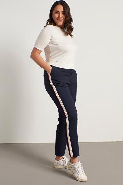 MYLİNE Yandan Şeritli Beli Lastikli Pantolon