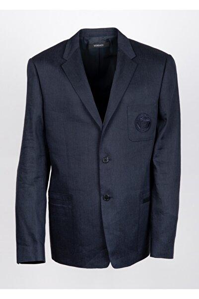 Versace Erkek Lacivert Ceket