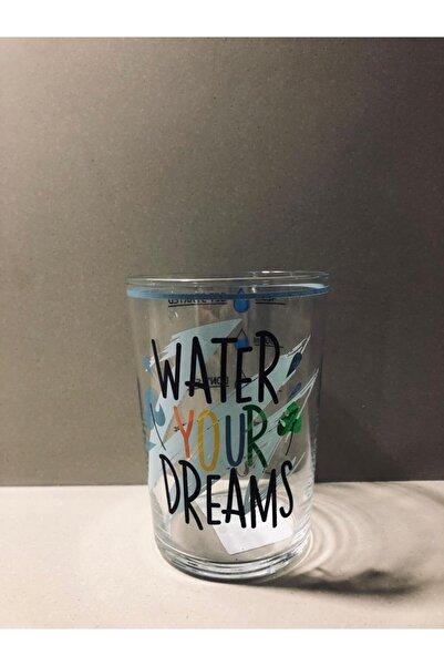 ADASHOP Water Your Dreams Ölçülü Meşrubat Bardağı