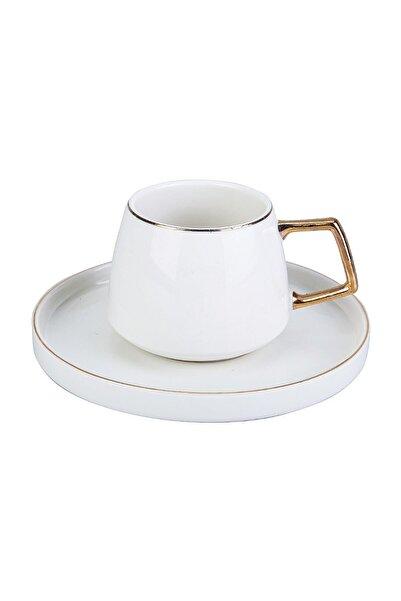 Karaca Satürn 2 Kişilik Porselen Çay Fincan Takımı
