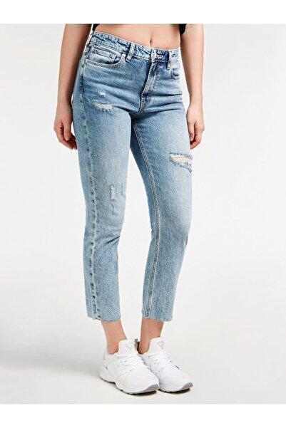 Guess Kadın Mavi Skınny Denım Pantolon