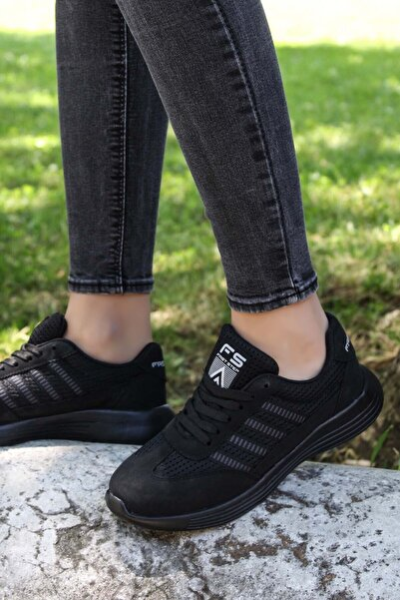 FAST STEP Siyah Kadın Sneaker Ayakkabı 925za221
