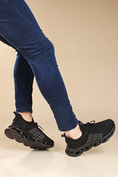 FAST STEP Siyah Erkek Yürüyüş Ayakkabı 865ma5028