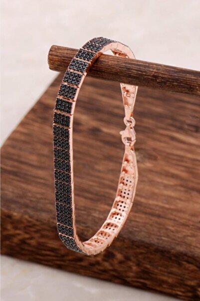 Sümer Telkari Rose Tasarım Su Yolu Gümüş Bileklik 3067