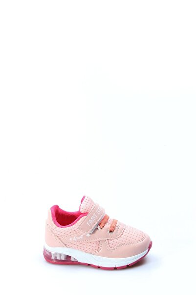 FAST STEP Somon Fuşya Bebek Sneaker Ayakkabı 877ba105p
