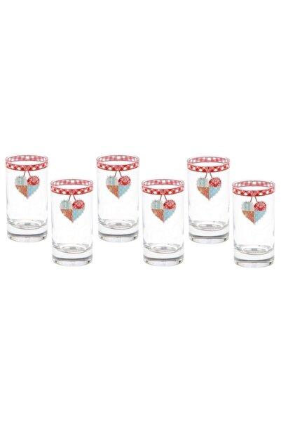 BİEV  Patchwork Serisi 6 Lı Kahve Yanı Kahve Su Bardağı Brt304