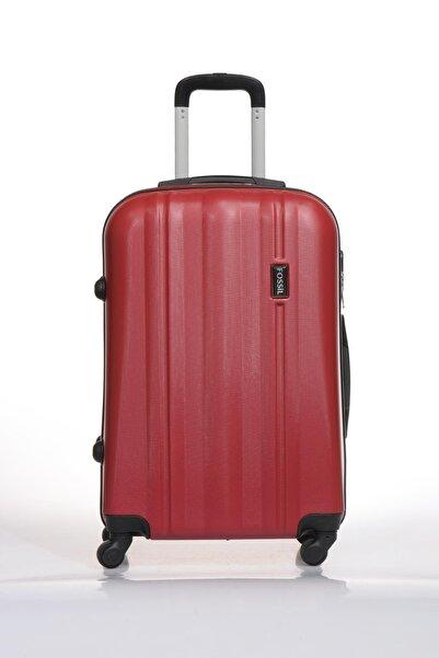 Fossil Fsy1225y-m Kırmızı Unisex Orta Boy Bavul