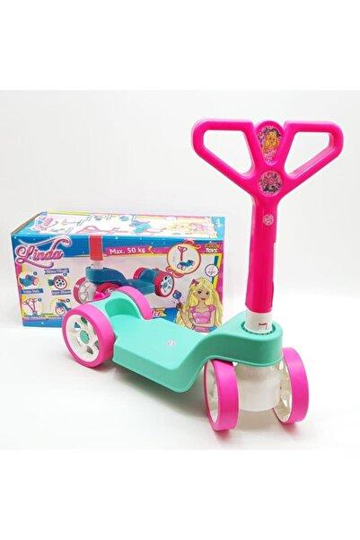 Furkan Toys Linda 4 Tekerlekli Scooter Katlanabilir Direksiyon