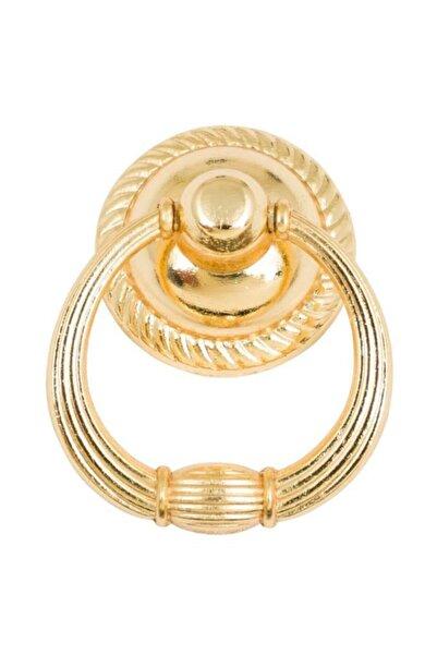 bablife Rustik Halka Sarkaç Altın Sarısı 35mm Çapında Çekmece Dolap Mobilya Kulpları