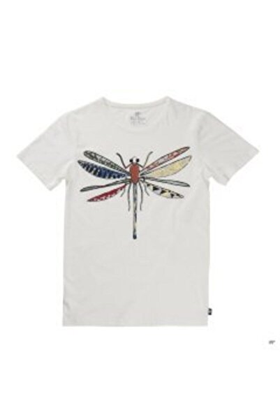 Bad Bear Beyaz Erkek Tişört Dragonfly Tee Off-whıte