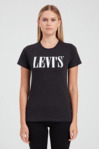 Levi's Kadın The Perfect Siyah T-shirt 17369-1328