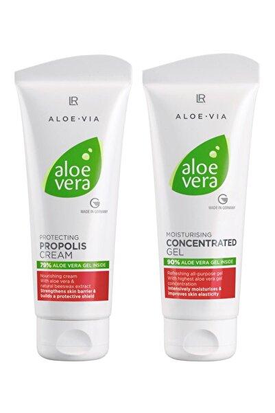LR Aloe Vera Propolis Krem - Konsantre Jel - 2 Parça Set 100 ml