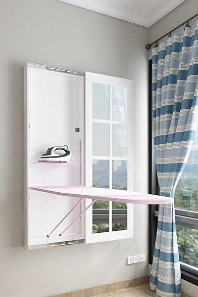 Doğrular-Perilla Perilla Boy Aynalı Ütü Masası Beyaz - Yeni Model