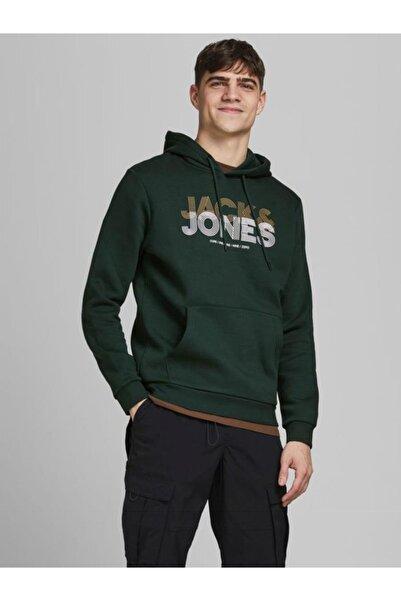 Jack & Jones Jack Jones Kapüşonlu Erkek Sweatshirt 12182465
