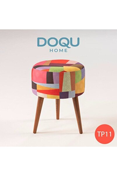Doqu Home Trio Dekoratif Puf Tp11