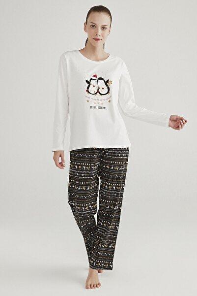 Penti Çok Renkli Together Pijama Takımı