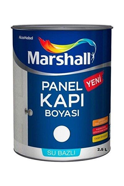 Marshall Su Bazlı Amerikan Panel Kapı Boyası 2.5 Lt Beyaz