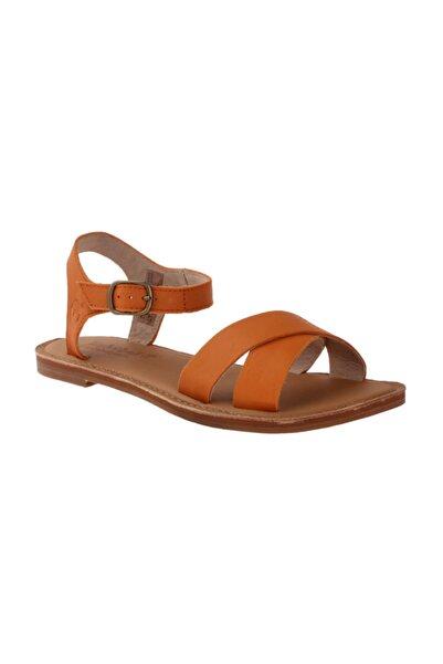 Timberland Kadın Turuncu Sandalet 8730A