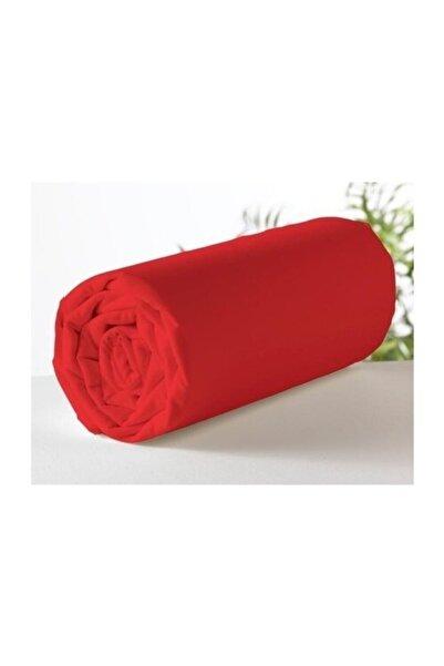 Aslans Battal Boy Lastikli Çarşaf Kırmızı