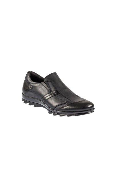 Fosco Erkek Siyah Kauçuk Taban Günlük Ayakkabı 3530