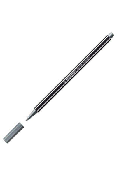 Stabilo Pen 68 Metallic Silver Davetiye Kalemi