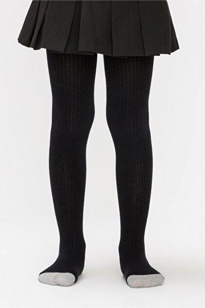 Penti Siyah Renk Triko Külotlu Çorap