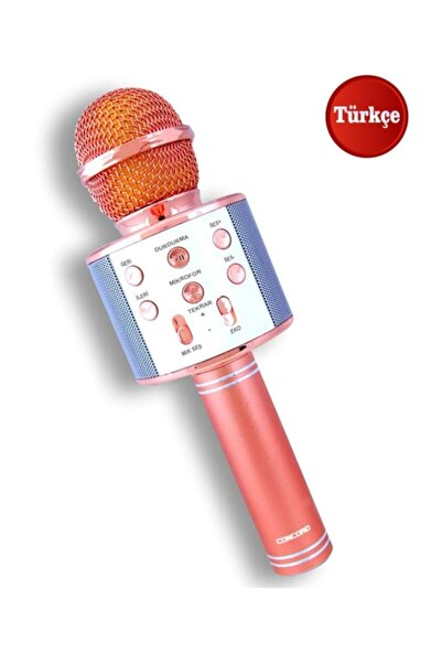 Concord C-792 Bluetooth/usb/aux/sd Kart/radyo/5 Farklı Ses Modu Karaoke Mikrofon