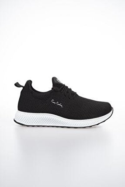Erkek Günlük Spor Ayakkabı-Siyah-Beyaz PCS-10244