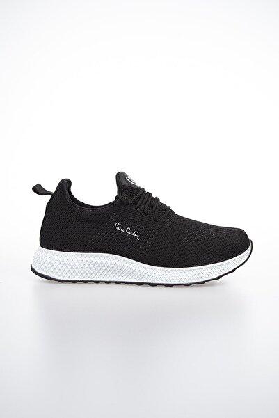 Pierre Cardin Erkek Siyah Beyaz Günlük Spor Ayakkabı