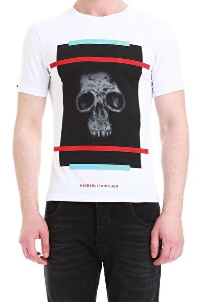 Efor Ts 750 Slim Fit Beyaz Spor T-shirt