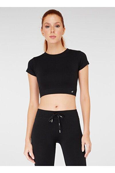 Jerf Kadın Spor T-Shirt - Captiva Siyah - 1236406