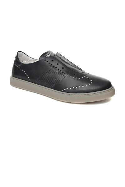 ALBERTO GUARDIANI Lacivert Erkek Sneaker Su76473b/---/ax78-- Man Tudor Blue