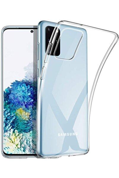 Kilifve Kilifplus Samsung Galaxy S20 Plus (6.1) Kılıf Ultra Ince Silikon Şeffaf Kamera Korumalı