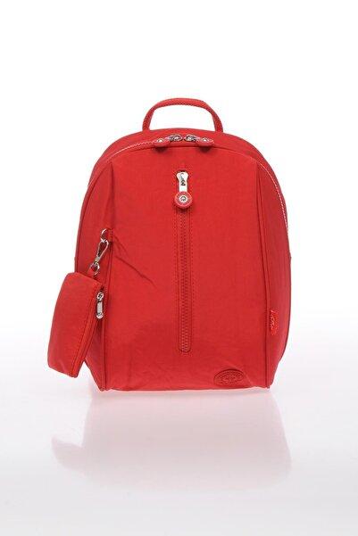 SMART BAGS Smb1233-0019 Kırmızı Kadın Küçük Sırt Çantası