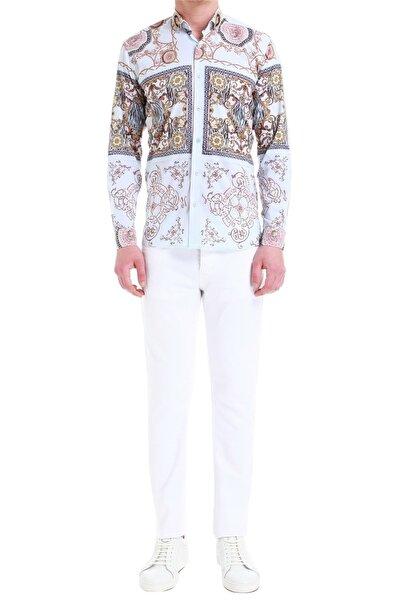 Efor 033 Slim Fit Beyaz Jean Pantolon