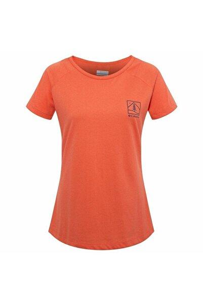 Columbia Cades Cape Tee Kadın Kısa Kollu Tişört Cs0039-847
