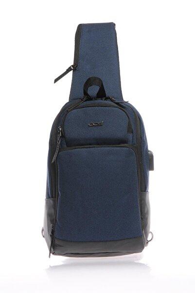 ÇÇS 31190 Lacivert Unısex Cross Body Bag