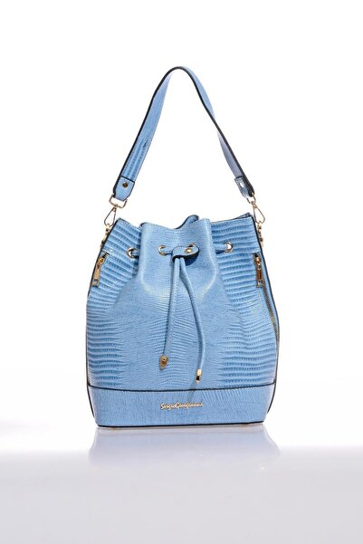 Sergio Giorgianni Luxury Sg0717 Mavi Kadın Omuz Çantası