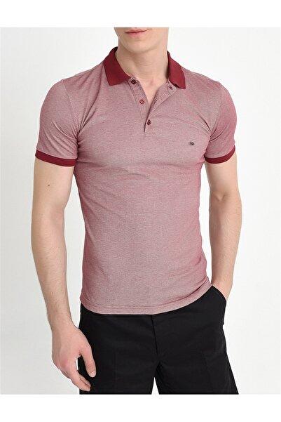Efor Ts 728 Slim Fit Bordo Spor T-shirt