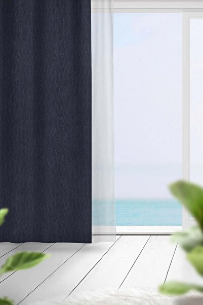 Premier Home Blackout Fon Perde Lacivert 140x270