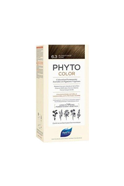 Phyto Color 6.3 Koyu Kumral Dore Saç Boyası Yeni Seri