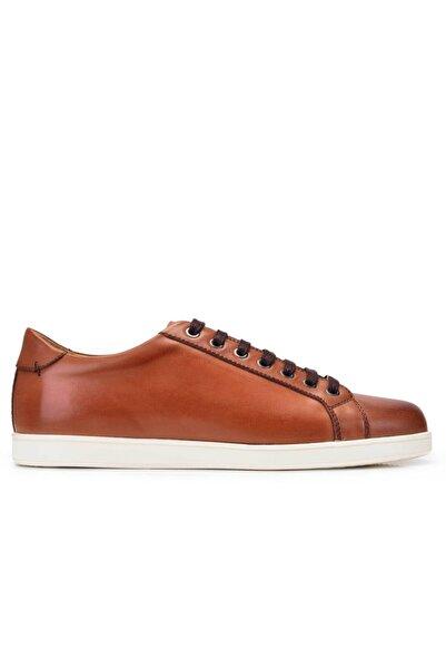 Nevzat Onay Hakiki Deri Taba Sneaker Erkek Ayakkabı -11379-