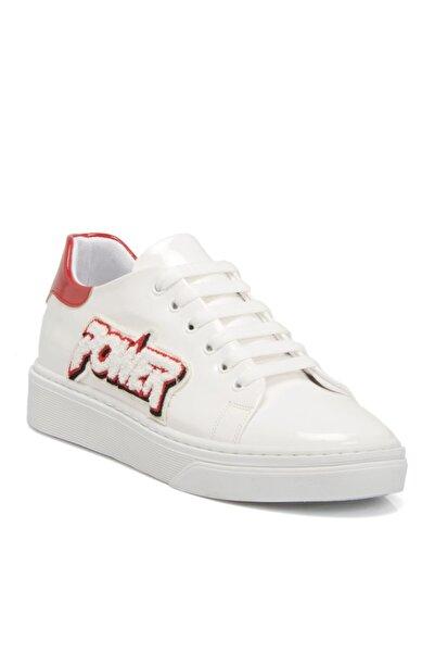 Tergan Beyaz Tekstil Kadın Ayakkabı 64228d93