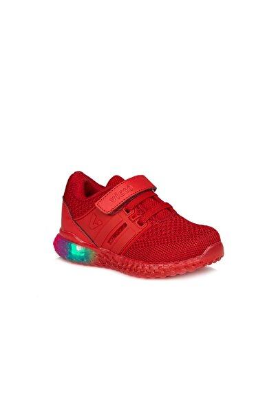 Vicco Flash Unisex Çocuk Kırmızı Spor Ayakkabı