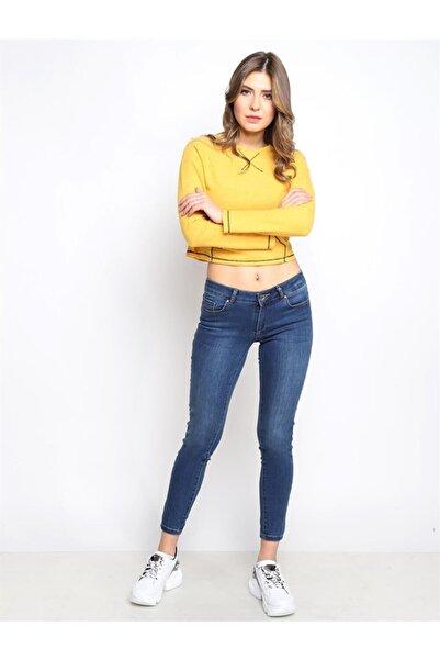Twister Jeans Kadın Slim Fit Orta Bel Pantolon Lıma 9046-37 37