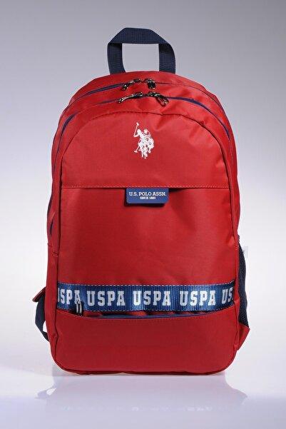 U.S. Polo Assn. Plçan9250 Kırmızı Erkek Sırt Çantası