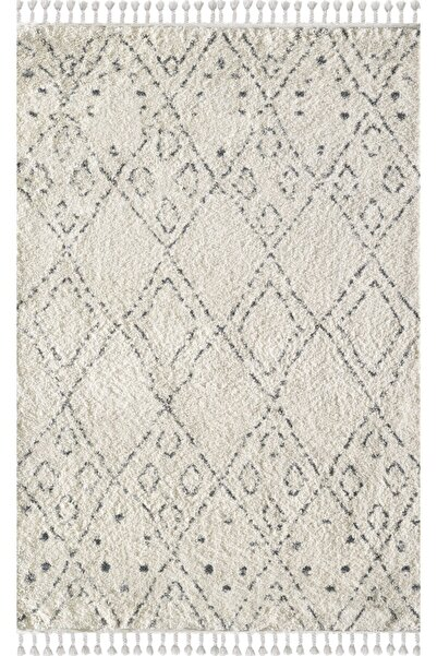 Angel Carpet Chicago Serisi Kregri Cream/grey Chicago Collection
