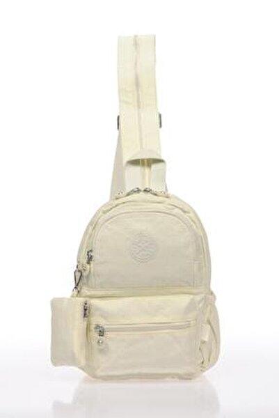 Smb1030-0002 Beyaz Kadın Küçük Sırt Çantası