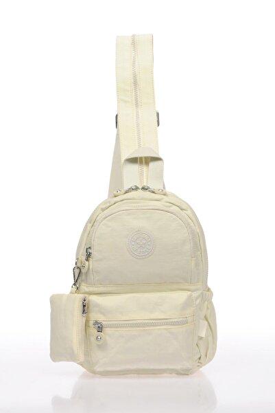 SMART BAGS Smb1030-0002 Beyaz Kadın Küçük Sırt Çantası