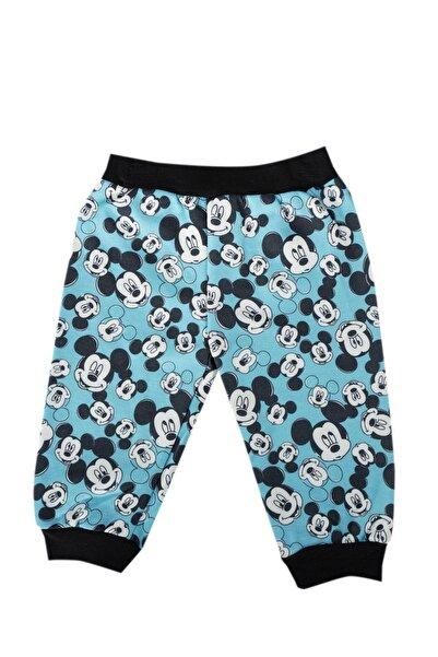 Mickey Mouse Erkek Bebek Mavi Lisanslı Mickey Body Alt